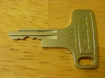 Vintage Honda OEM Factory Pre Cut Motorcycle Key # T3546
