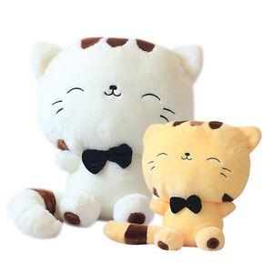Cute Big Cat Plush Toy Pillow : Cute Girl Big Face Cat Plush Toy Stuffed Animal Doll Cushion Pillow Decor Gift eBay