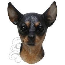 NEW ! Latex Animal Realistic Chihuahua Dog Cosplay Fancy Dress Carnival Masks