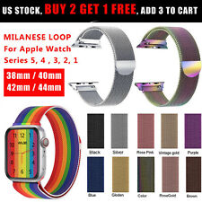 Milanese Loop Band iWatch Strap For Apple Watch Series 5 4 3 2 1 44/42/40/38mm