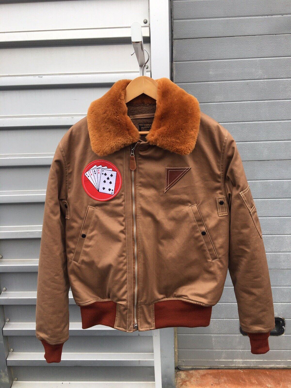 Selten B15 Flight Jacket B.Rickson Größe 42 Vintage Neu
