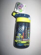 Contigo AUTOSPOUT Straw Gizmo Flip Kids Water Bottle, 14 oz, Nautical with Space