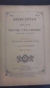 Revista-Beiblatter-N-4-Zu-Den-Annalen-Der-Physik-Y-Chemie-1896-Leipzig-Verlag