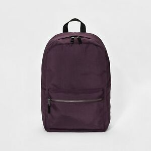 a706dd82f5 NEW Women s Simple Dome Backpack - Mossimo Supply Co. Berry Purple ...