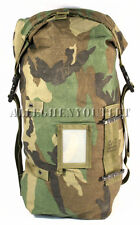 US Military NBC Chemical Suit Carrying Bag Stuff Sack Utility Gear Woodland VGC