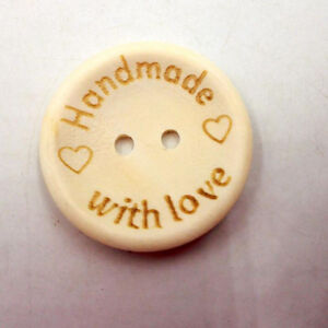 100pcs-Mixed-2-Holes-Craft-DIY-Handmade-Wooden-Alphabet-Buttons-Scrapbook-Button