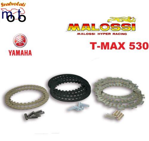 MALOSSI SERIE DISCHI per FRIZIONE ORIGINALE YAMAHA TMAX T-MAX 530 ANNO 2016