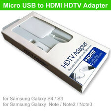 Samsung MHL to HDMI 1080P HDTV Adapter Cable Samsung Galaxy S3 S4 S5 Note 2/3/4