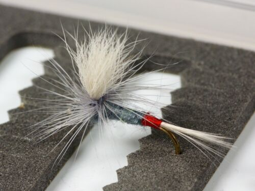 PARACHUTE IRON BLUE DUN Dry Trout Fishing Flies various options