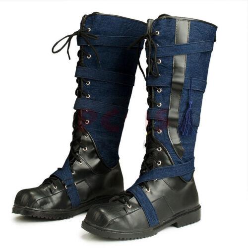 NEW Doctor Strange Stephen Strange Cosplay Shoes Boots MM.2086