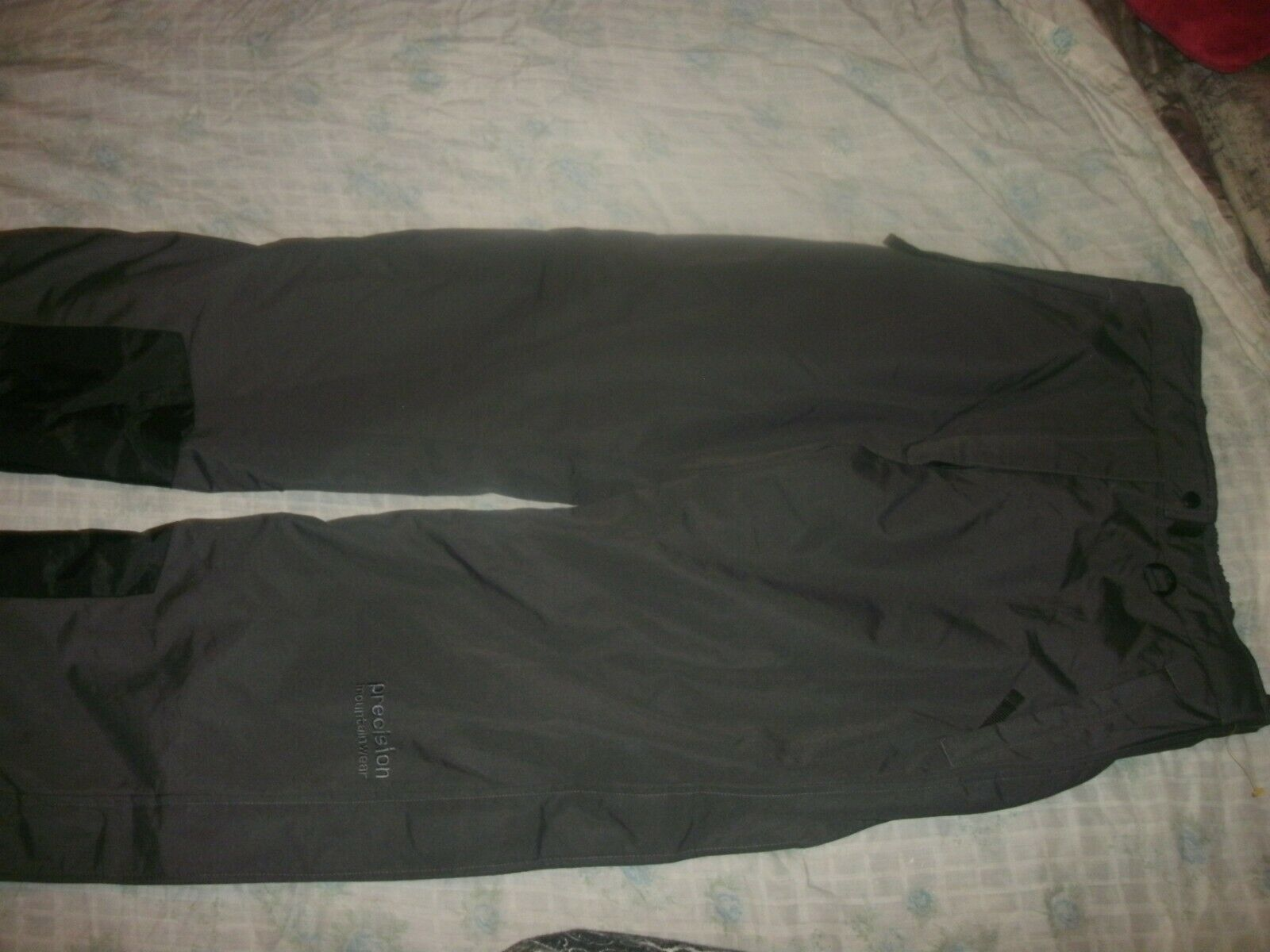 Precision Mountainwear Womans Snow Pants Size Large Dark G   Waterproof (B27)  sale online discount