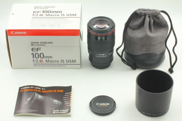 [CIA würde Mint] Canon Macro EF 100mm f/2.8 L IS USM EF Mount Objektiv in Box aus Japan