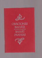 Oraciones Bahã¡'ãs / Bahã¡'ã Prayers 9781890101213 Spanish And English