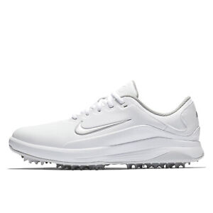 NIKE-GOLF-MENS-VAPOR-Golfing-Shoes-Cleats-Spikes-White-Silver-Pick-Size