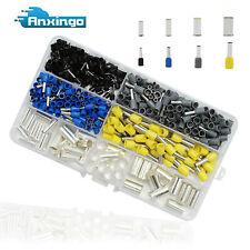 390x Awg 2 4 6 8 10 12 14 16 Wire Ferrules Kits Crimp Terminal Wire Copper Set