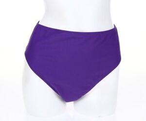 7d25c1c55c Image is loading GOTTEX-CONTOUR-128205-royal-purple-high-waist-bikini-
