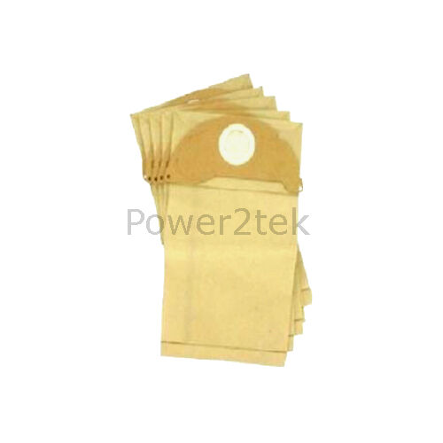 15 x 20 Dust Bags for Karcher MV2 S2500 WD2.200 Vacuum Cleaner