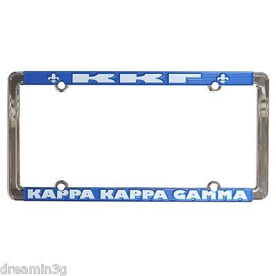 Kappa Kappa Gamma License Plate Frame - NEW!