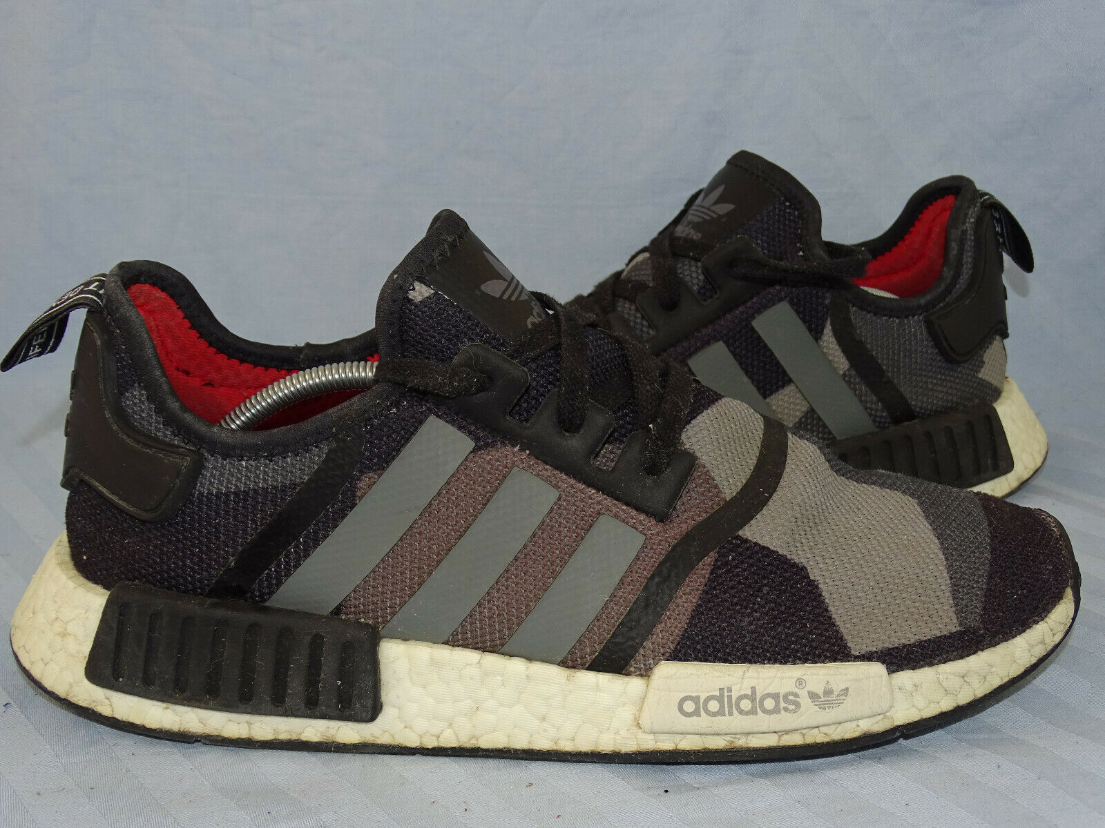Adidas NMD r1 Boost CAMO noir marron gris rareHommest paniers Turtle T 46 Limited