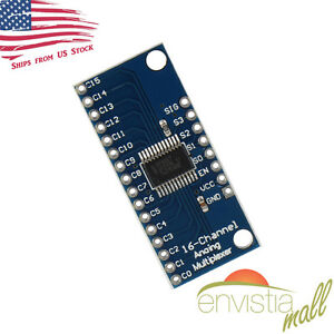 CD74HC4067 CMOS 16 Channel Analog Digital Multiplexer Breakout Module Arduino