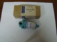 Wilkerson F00-02-m00 1/4 Filter,