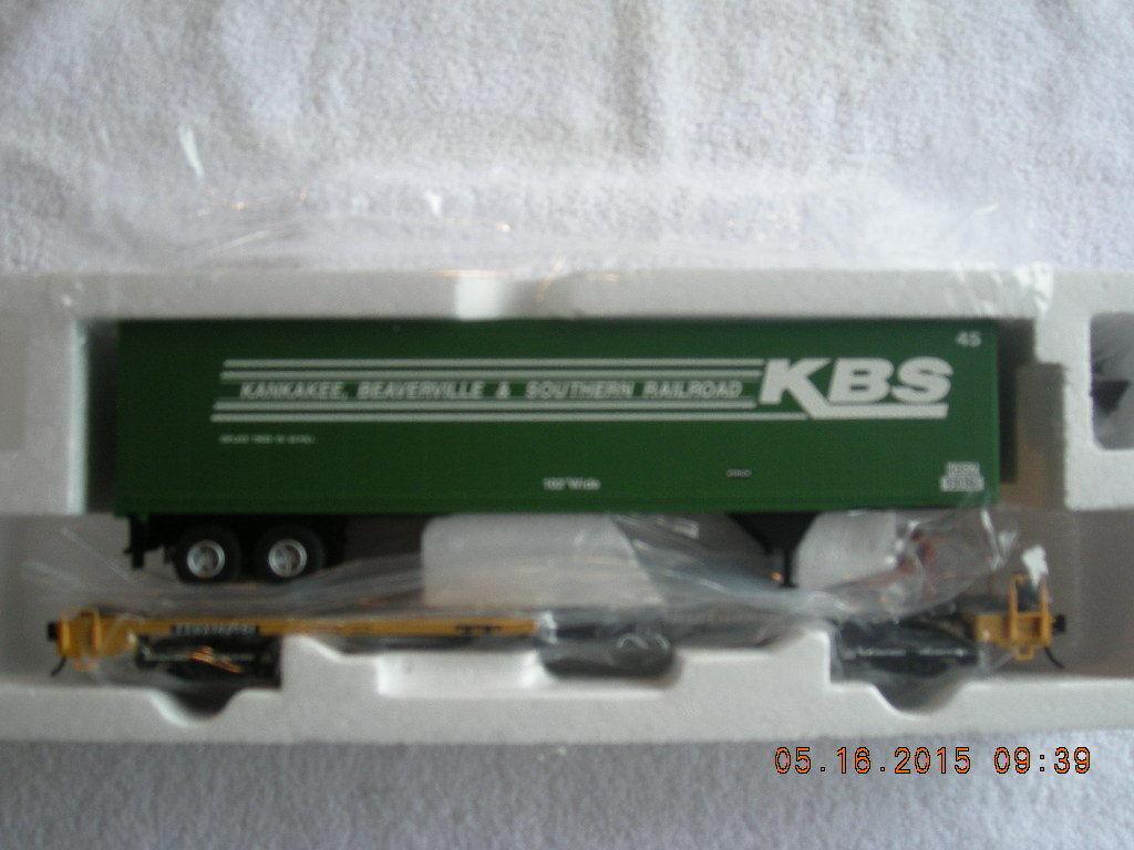 7959 Kankakee beaverville & frente meridional Runner coche 2 Ferrocarril Nuevo En Caja