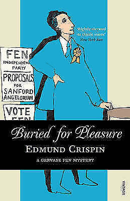 1 of 1 - Buried for Pleasure, Crispin, Edmund, Very Good Book