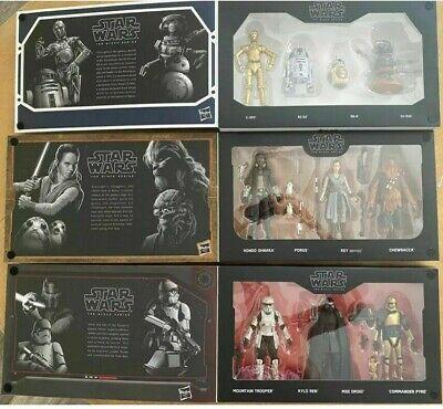 First Order Set Star Wars Galaxy/'s Edge Black Series Droid Depot Smugglers Run