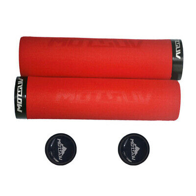 1 Pair Bike Bicycle Grips MTB Silicone Sponge Soft Handlebar Grip Protector