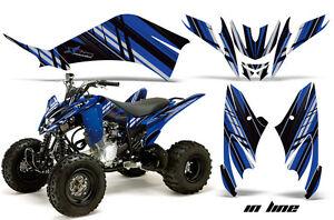 ATV Decal Graphic Kit Quad Sticker Wrap For Yamaha Raptor 250 2008-2014 DFLM K U
