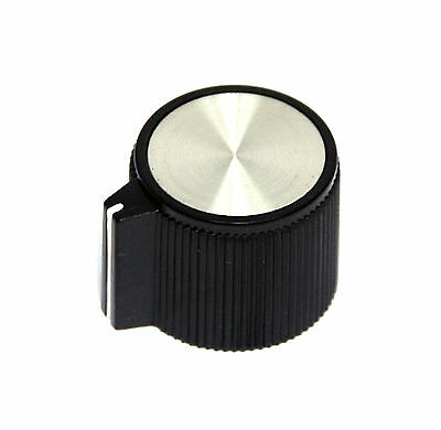 10pc Plastic Bakelite Round Srew type Knob RN-206D Size=φ23.4x19.3mm Hole=φ6.4mm