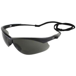 Jackson-Nemesis-Rx-Bifocal-Safety-Sunglasses-Smoke-Lens-1-50-to-2-50-Diopter