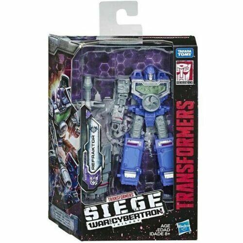 neuf en stock Transformers la guerre pour Cybertron Siège Deluxe refraktor Réflecteur
