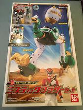Power Rangers Deluxe Gosei Megaforce Megazord Egg Head zord Japan import BNIB