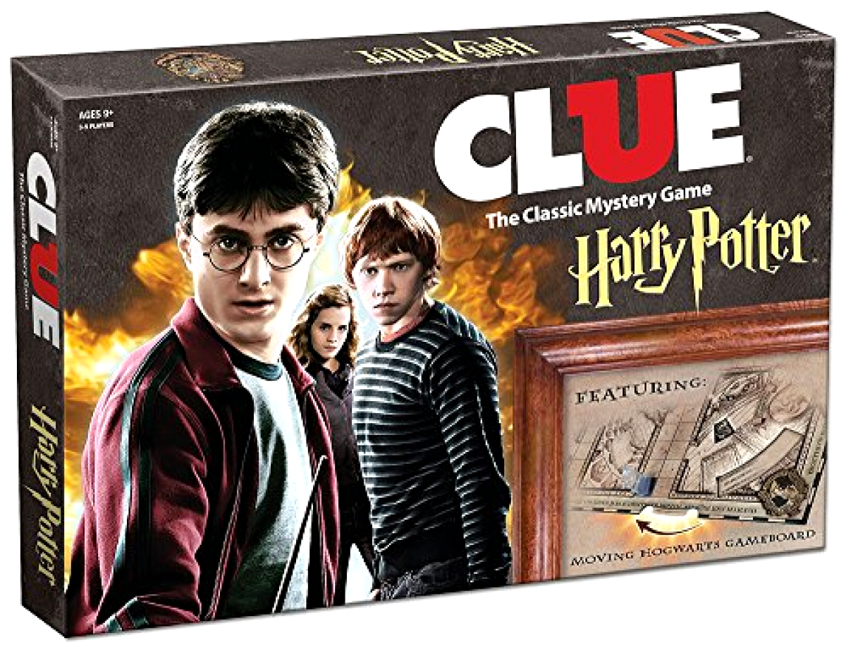 USAopoly Clue Harry Potter Board Game Official Harry Potter Licensed Merchandise