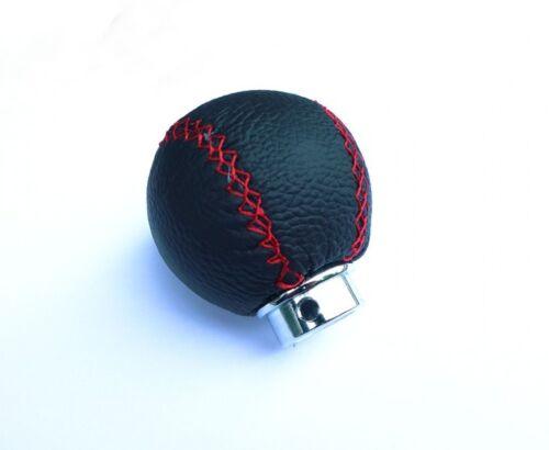 Universal pommeau cuir noir poignée Gear shift knob schaltsack circuit