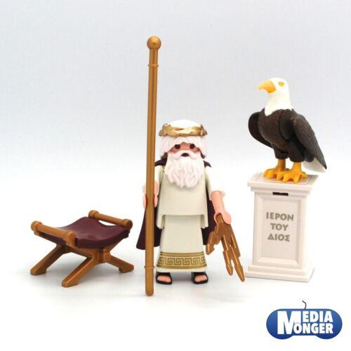 Playmobil ® romains exclusif personnage: Dieu Grec zeusOlympe9149