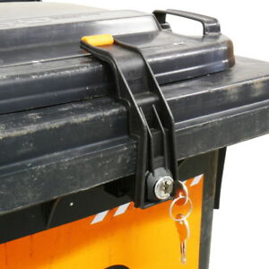 Mülltonnenschloss selber machen
