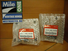 OEM Honda Left and Right Inside Door Handle Covers  Fits 1993-1995 Del Sol Gray