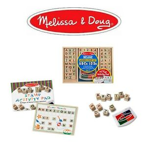 Melissa-amp-Doug-Letters-Numbers-Deluxe-Activity-Wooden-Stamp-Set-Educational-Toy