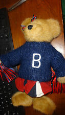 Boyds Bear Perky P Brown Bear Christmas Ornament New Rally Cheerleader Lt