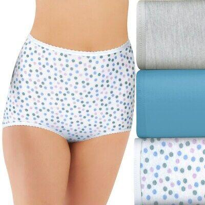 3 Bali Cotton Skimp Skamp Briefs panties size 7 Style A332
