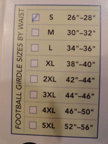 Stromgren Adult 3 Pad 5-Pocket Football Compression Girdle Basketball Shorts