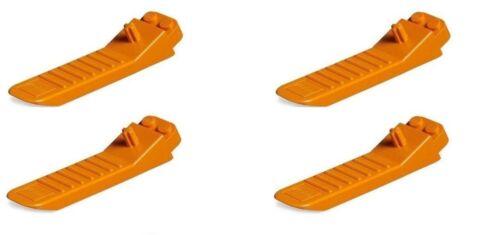 Lego Pack of 4 Brick Separators Orange NEW