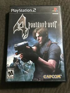Resident-Evil-4-Playstation-2-Complete-w-Manual