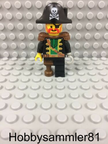 Lego® pi055 Pirates I Figur Captain Red Beard aus 6204 6250 6252 6251 6267 #35