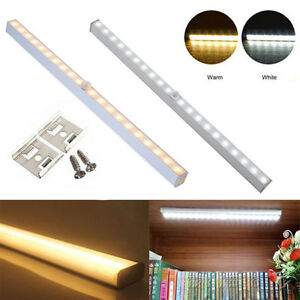 Details About 20 Led Battery Operated Pir Motion Sensor Light Closet Cabinet Cupboard Lighting