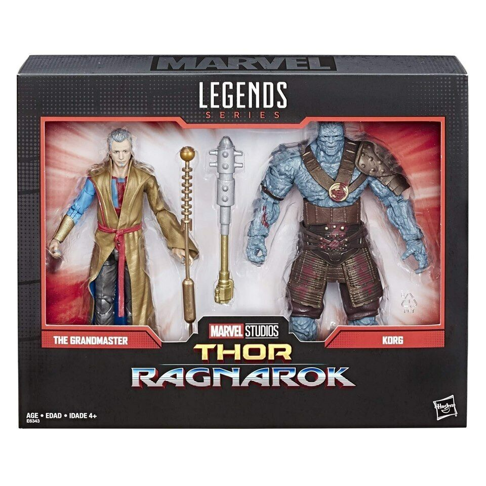 Marvel Legends 80th Anniversary Thor  Ragnorak Korg & Grandmaster nouveau  réductions incroyables