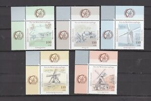 1948-1952    xx   kpl. Eck-OR-Satz  Windmühlen