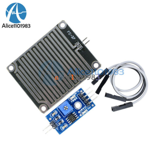 Raindrops Rain Detection Sensor Module Weather Module Humidity For Arduino